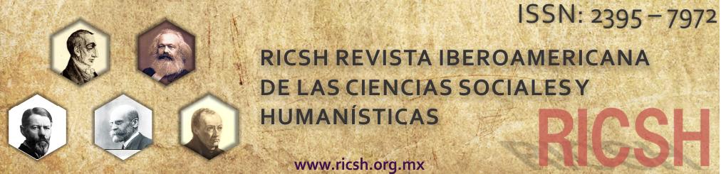 Revista Iberoamericana de las Ciencias Sociales y Humanísticas